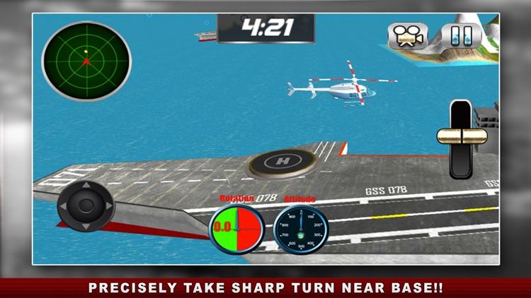 Flight Pilot Helicopter Game 3D: Flying Simulator screenshot-3