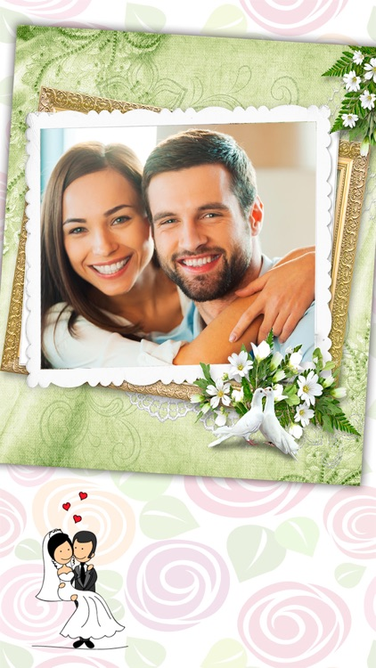 New wedding photo frames – Album & text editor screenshot-2