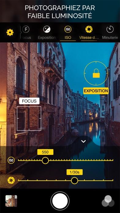 Screenshot for Warmlight - Caméra manuelle in Lebanon App Store