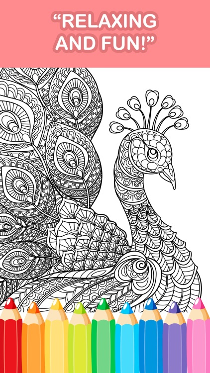Adult Coloring Book - Free Mandala Color Therapy & screenshot-3