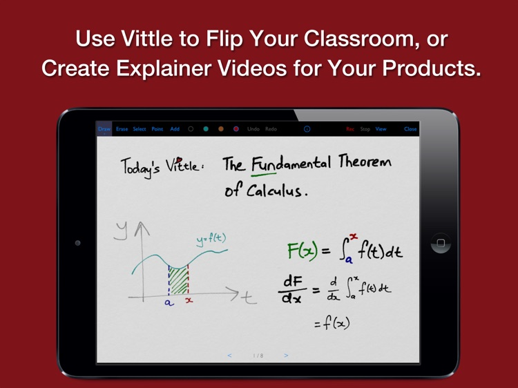 Vittle: Smart Whiteboard Video