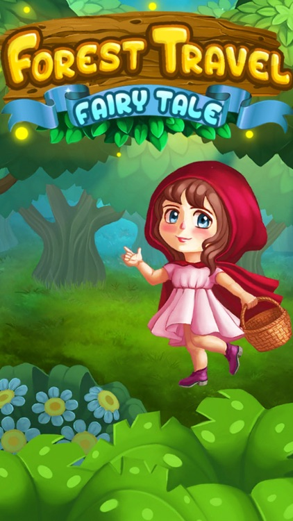 Forest Travel Fairy Tale: Match 3 Puzzle Game