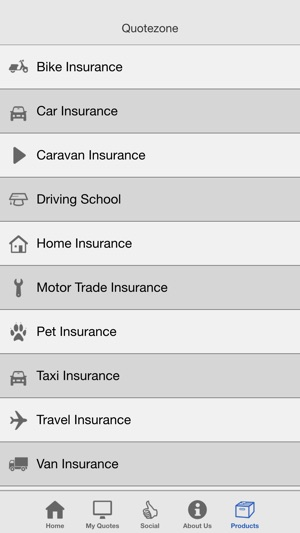 351730d8bd Quotezone Insurance on the App Store