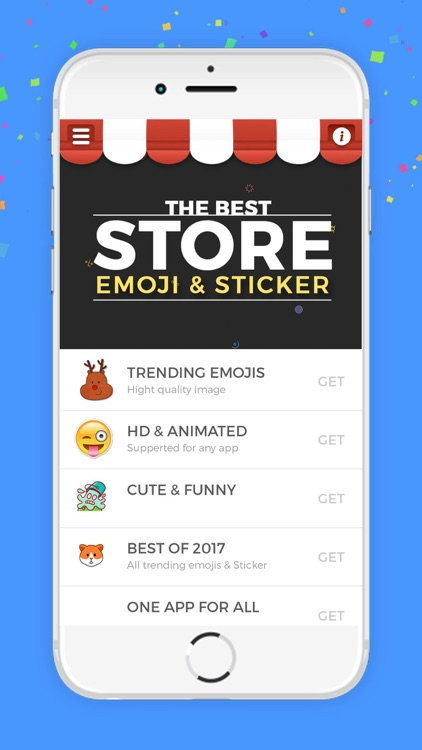 Emojis & Stickers for Keyboard, iMessage & More screenshot-0