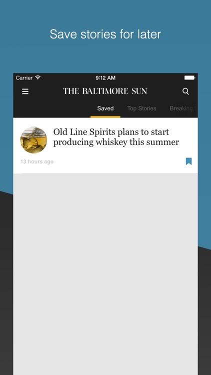 The Baltimore Sun: Maryland's top news source app image