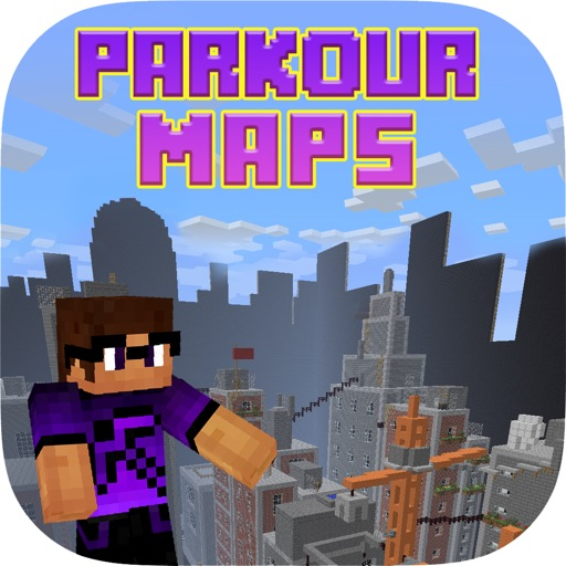 Parkour Maps for Minecraft PE Pocket Edition !