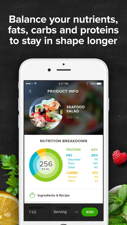 Mealviser – your AI dietitian