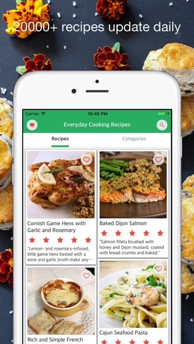 Daily Meal - Everyday Cooking Recipes screenshot one
