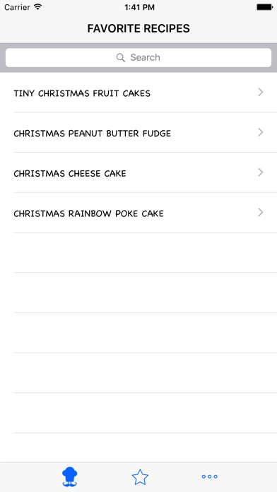 Christmas Recipe review screenshots