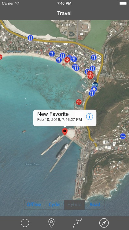 SAINT MARTIN – GPS Travel Map Offline Navigator screenshot-2