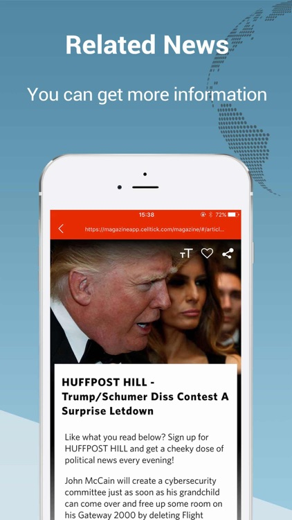 Top Story Pro: breaking news of the world screenshot-3