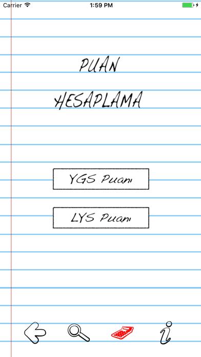 YGS LYS Puan Hesaplama screenshot two