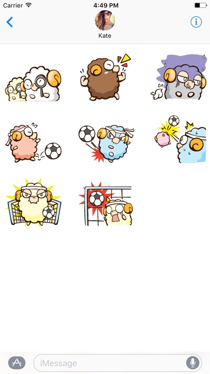 Freaky The Lamb Stickers screenshot-4