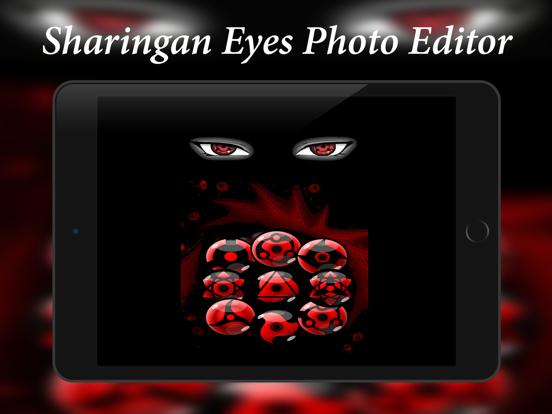 Sharingan Eyes Photo Editor: Sasuke Naruto Edition | App Price Drops