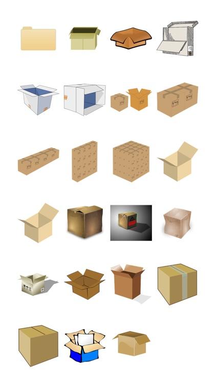 Cardboards Sticker Pack