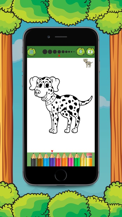 Cat & Dog Animal Coloring Book Games screenshot-4