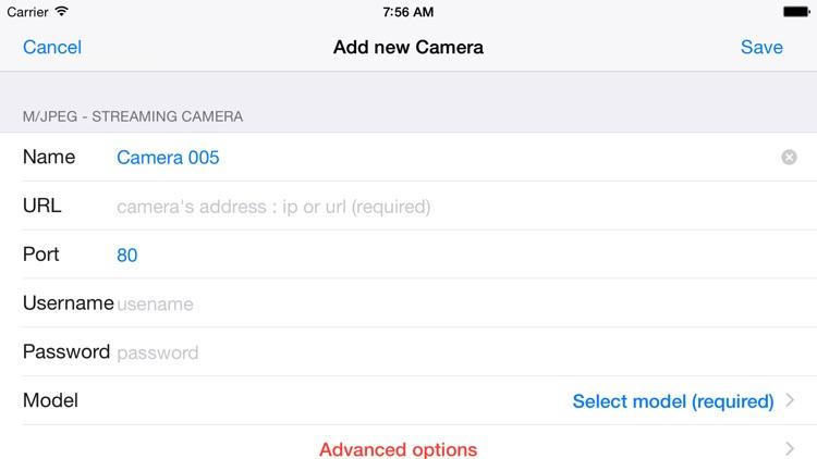 Viewer for D-link IP cameras screenshot-3
