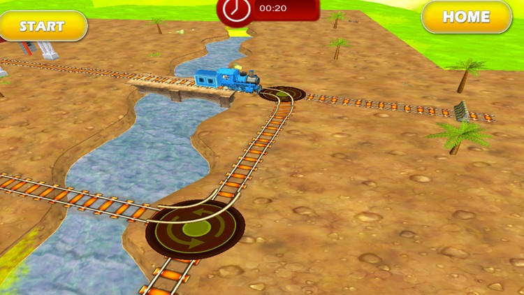 Tricky Train 3D Puzzle Game screenshot-2
