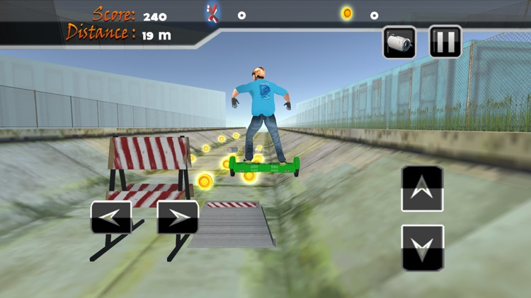 Real Hoverboard Stunts: Freestyle Board Simulator screenshot-3