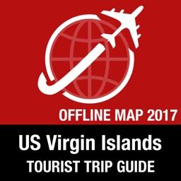 US Virgin Islands Tourist Guide + Offline Map