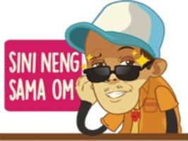 Soekirman stickers by yogadanu