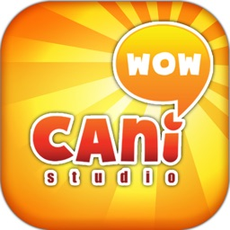 Caniwow Studio Stickers & Keyboard By ChatStick