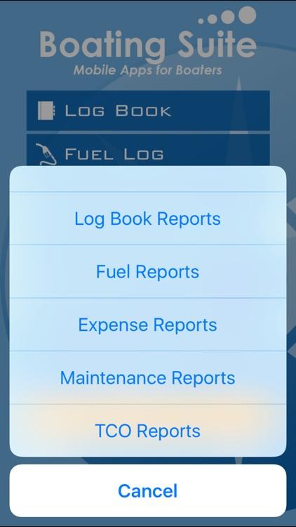 Boating Suite: Complete Boating Log Book screenshot-4
