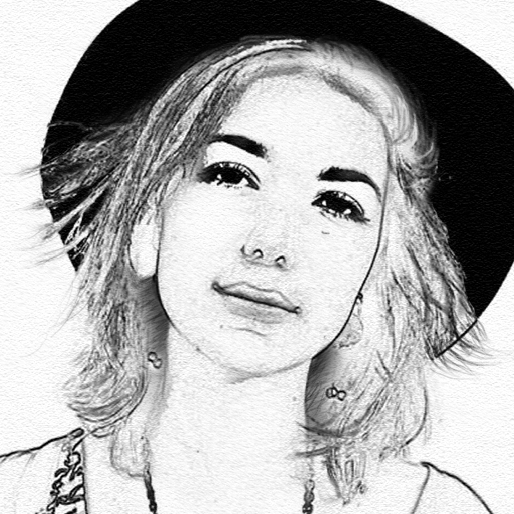 Photo to pencil sketch portrait drawing effects popular apps