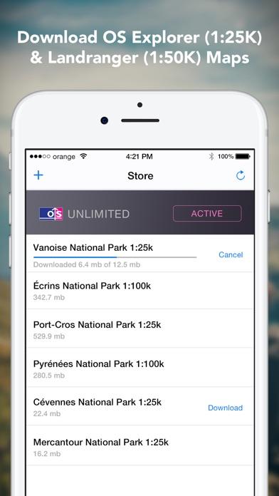 Outdoors GPS – Offline OS Maps Скриншоты6