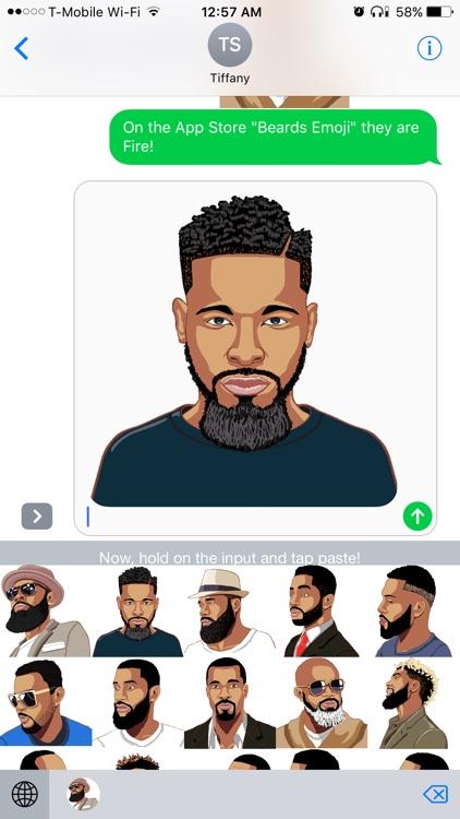 Beards Emoji - Premium Beard Emojis and Stickers