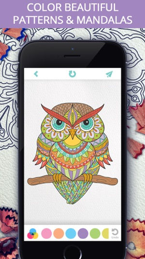 Colorify Free Mandala Coloring Book For Adults On The App Store