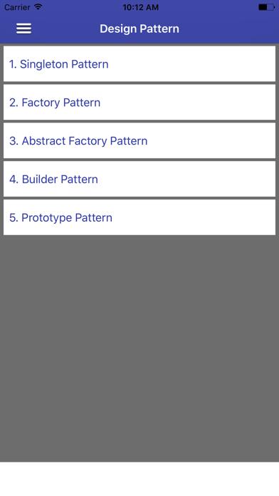 Screenshot #1 pour Design patterns in Java