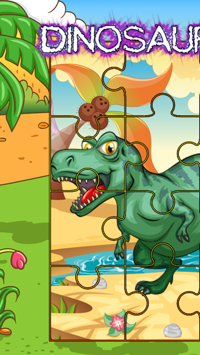 Dinosaur Jigsaw Puzzles Skills Games For Toddlers