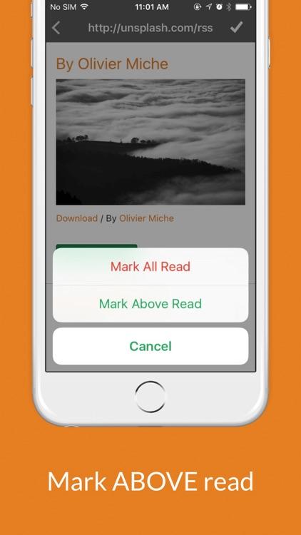 Rss Reader One Pro screenshot-3