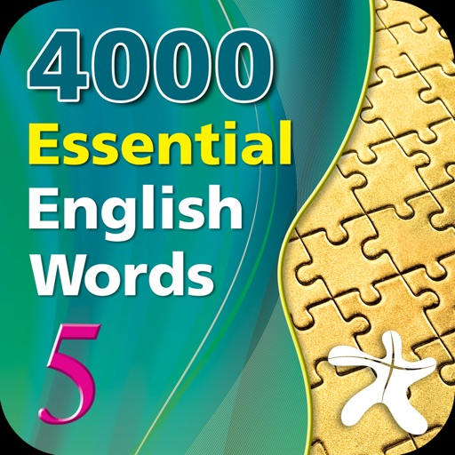 4000 Essential English Words 5 iOS App