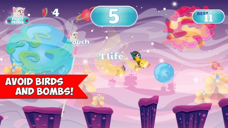 Piggy Patrol Jump Adventure screenshot-3