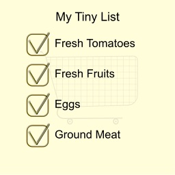 Tiny Shopping List