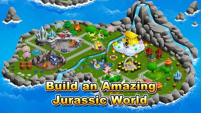 Jurassic Story Dragon Games - Dinosaur City Game Screenshot