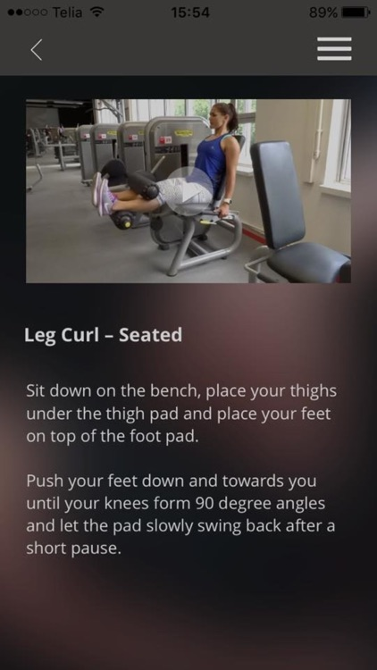 Gym Exercises Training Butt Leg Fitness Workout screenshot-4
