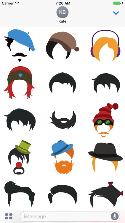 Hairstyle Stickers