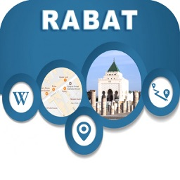 Rabat Morocco Offline City Maps with Navigation