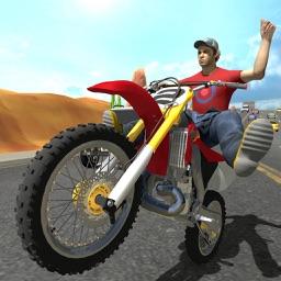 Traffic GT Bike Racer stunts Drive: Highway