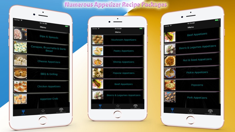 All Appetizer Recipes