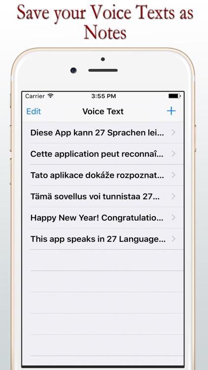 Voice Texts - LIVE - Lite screenshot-3