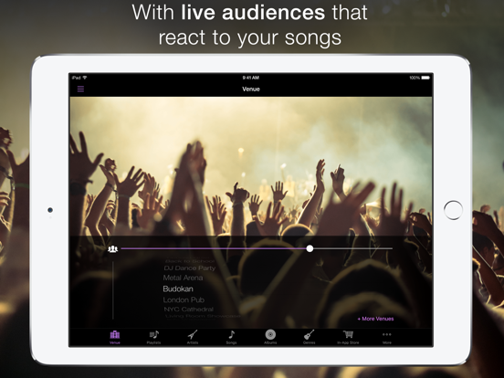 LiveTunes: Make your music sound LIVE! screenshot