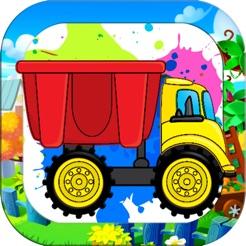 Araba Canavar Kamyon Boyama Kitabı çocuklar Için App Storeda