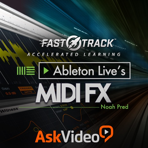 FastTrack™ For Ableton Live MIDI FX iOS App