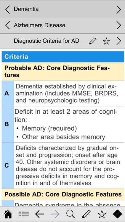 Neurology pocket screenshot-3