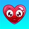 ハート絵文字 - テキスト メッセージのための愛の絵文字ステッカー