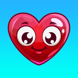 Heart Emoji - Love Emoticon Stickers for Texting